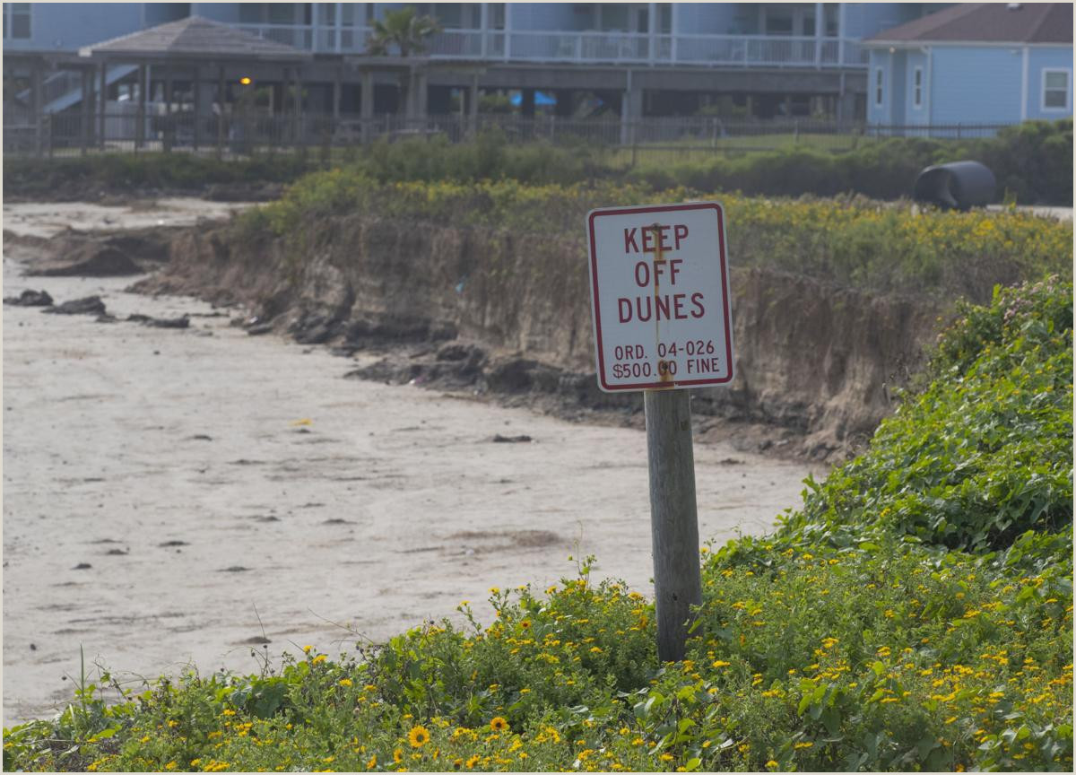 Vista Print Signs 3 Storms Later Questions Linger About Beach Repair In