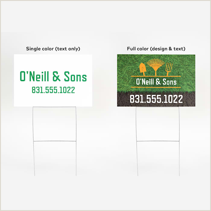 Vista Print Signs Custom Signage For Indoor & Outdoor Use
