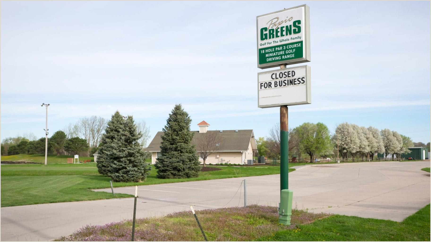 Vista Print Signs Papio Greens Now Closed After 17 Years Paved Way For