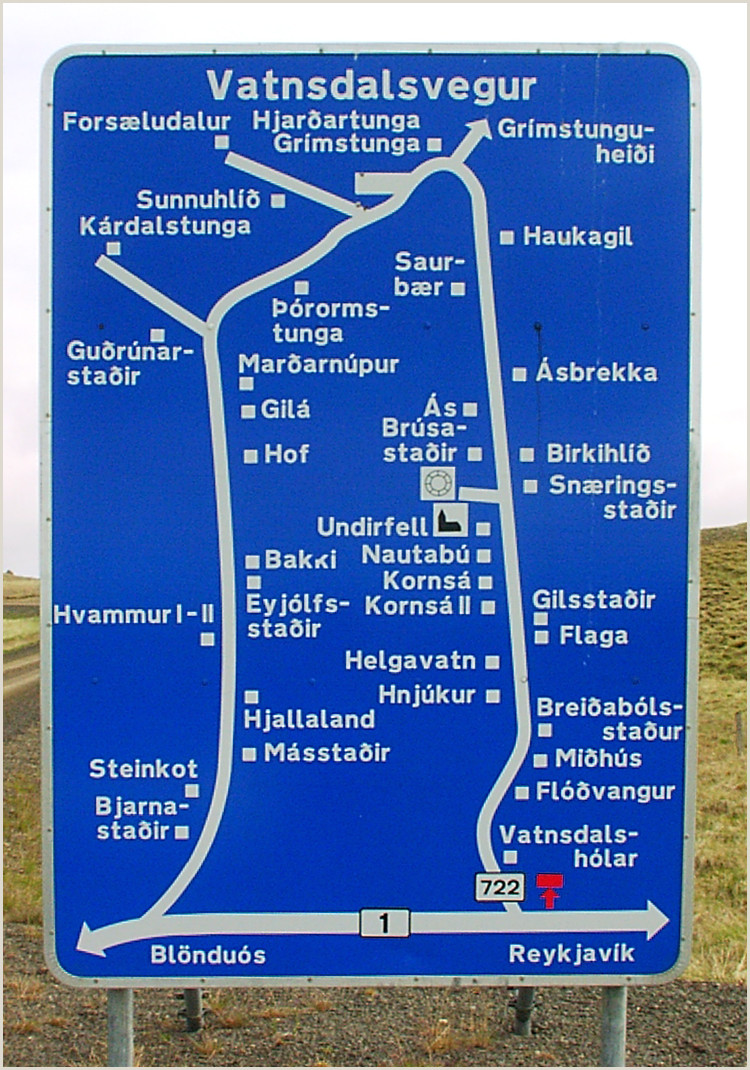 Vista Print Signs Road Signs In Iceland