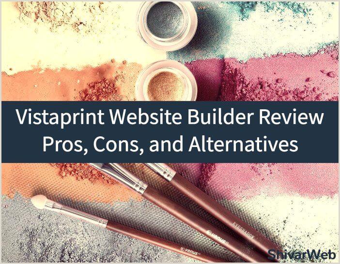 Vistaprint Banner Review Vistaprint Website Builder Review 9 Pros Cons & Alternatives