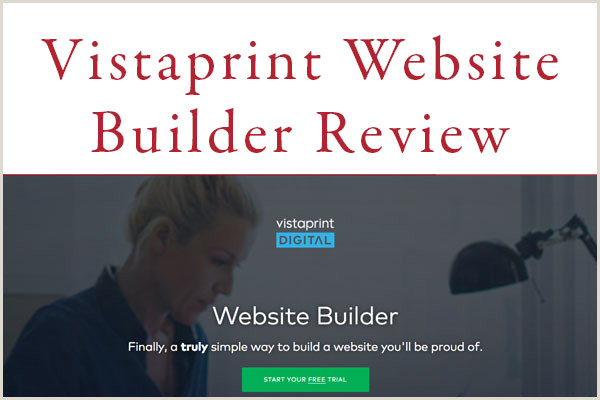 Vistaprint Banner Review Vistaprint Website Builder Review Pros And Cons Of Its