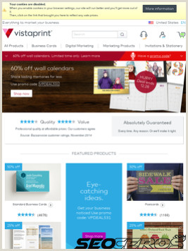 Vistaprint Business Signs Vistaprint Review Seo And Social Media Analysis From