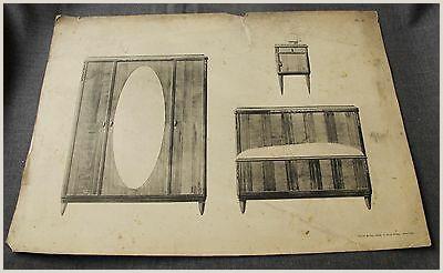 Vistaprint Vertical Banner 1920s Art Deco French Furniture Mobilier