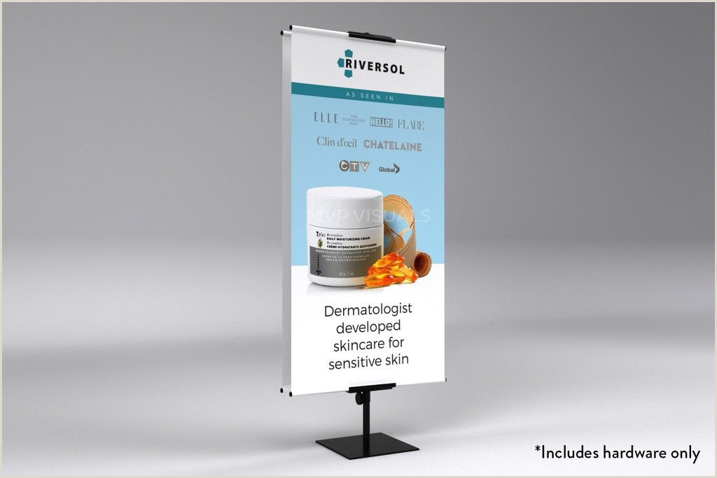 Vistaprint Vertical Banner Stand Classic Banner Stand