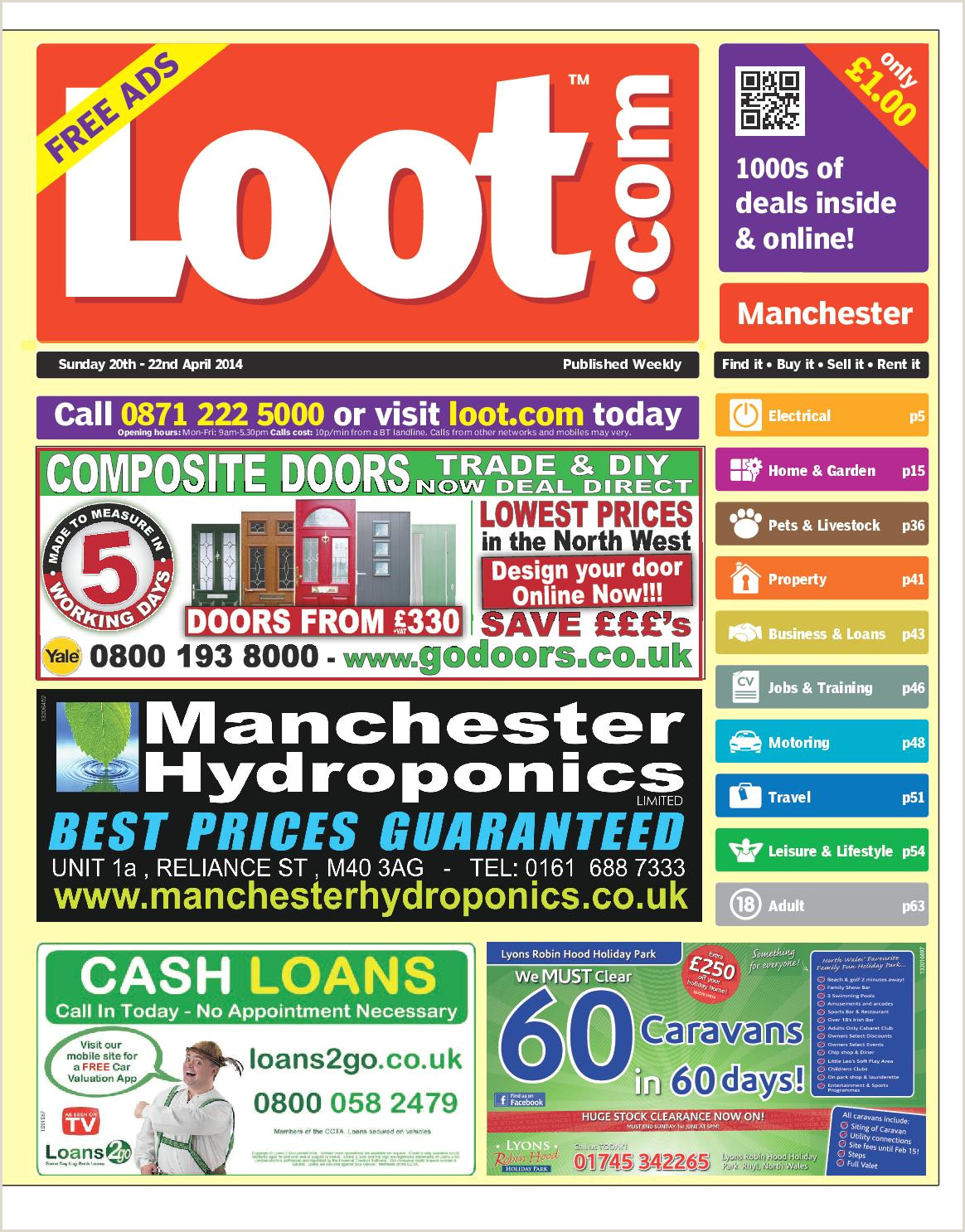 Visting Card Loot Manchester 20th April 2014 By Loot Issuu