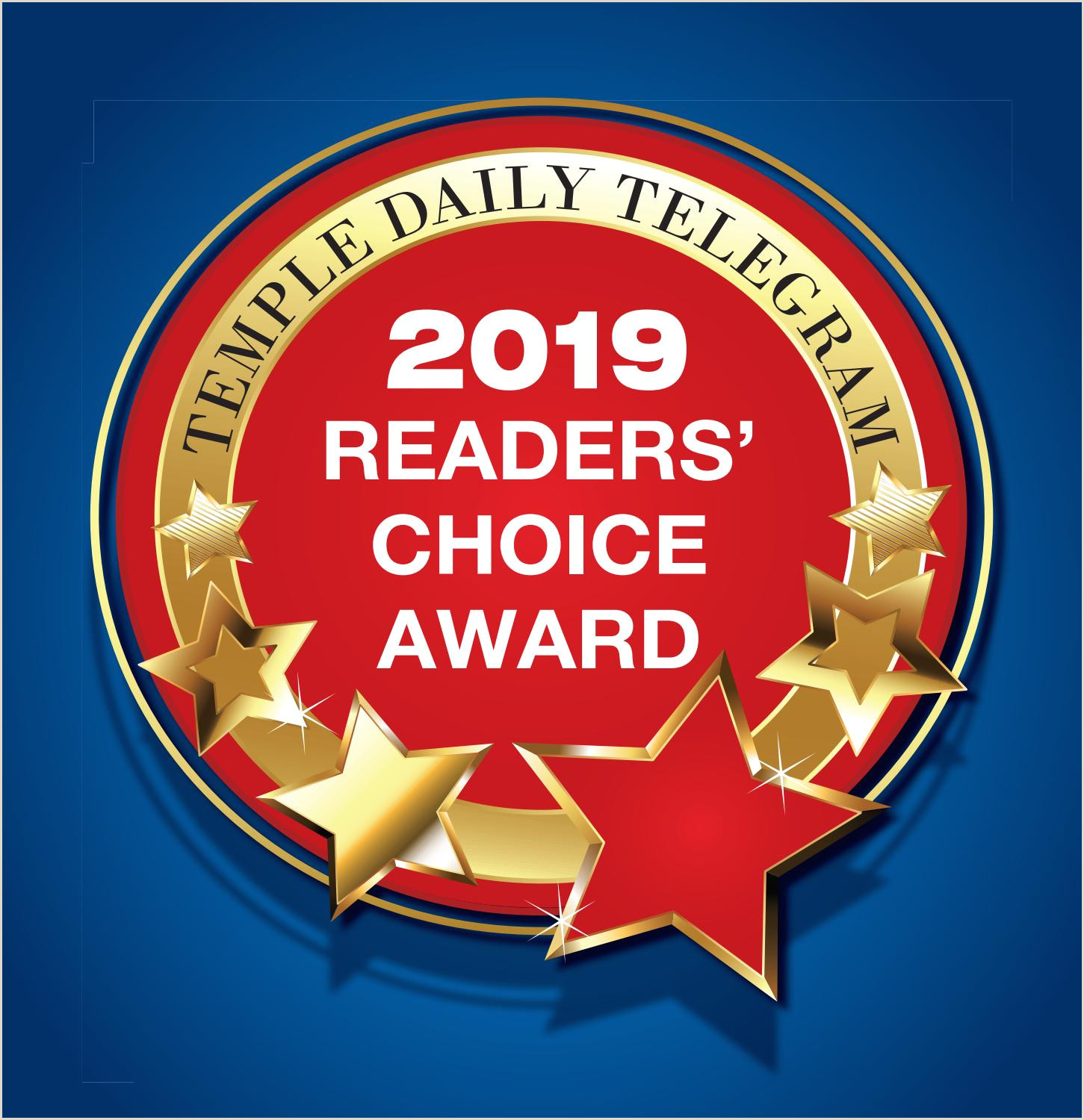 Visting Card Readers Choice 2019 By Temple Daily Telegram Issuu