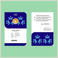 Visting Card Template Id Card Template Portrait Free Vector Art 96 213 Free