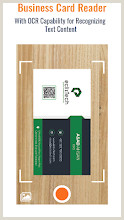 Visual Business Cards Business Card Scanner & Reader Free Card Reader – Apps On