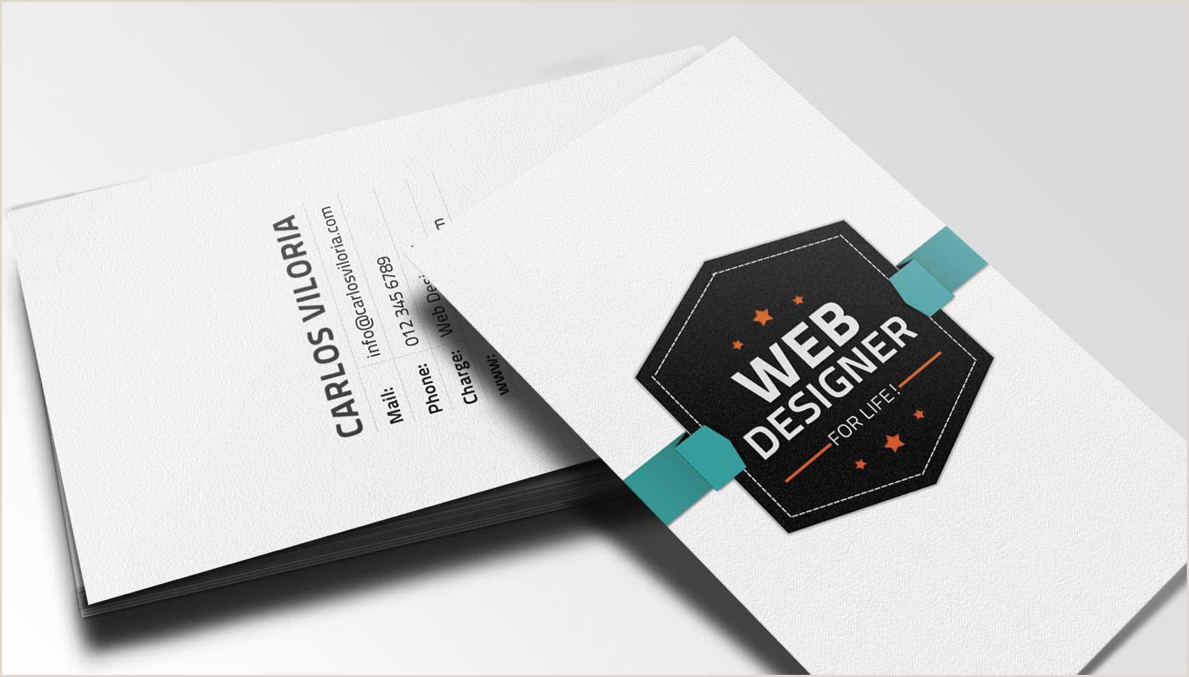 Website For Business Cards Free Retro Business Card Psd