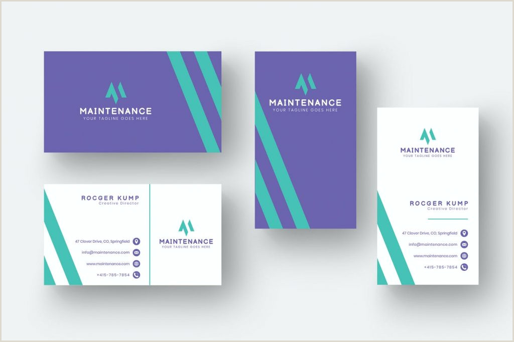 What Information Goes On A Business Card Best Business Card Design 2020 – Think Digital