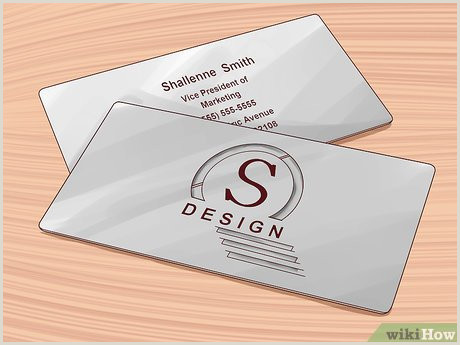 What Information Goes On A Business Card How To Design An Effective Business Card 13 Steps With