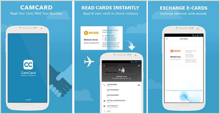 What Is The Best Business Cards App Top 7 Best Business Card Scanner Apps Of 2020
