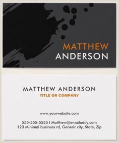 What Title To Put On Business Card 40 Best Business Cards Images