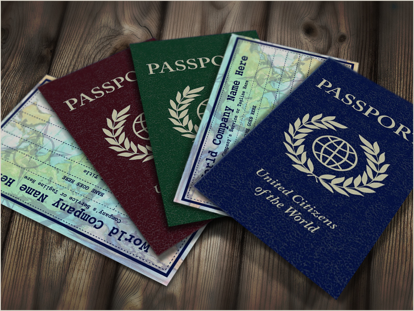 What Title To Put On Business Card Passport Business Card Zazzle
