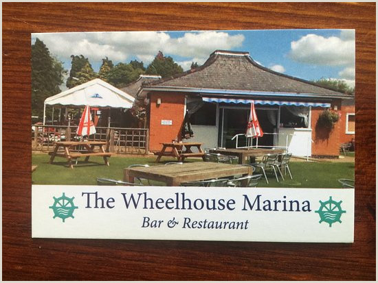 What To Include On A Business Card Business Card Picture Of The Wheelhouse Marina Bar And