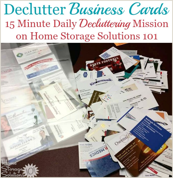 What To Put On A Personal Business Card Tips For Organizing Business Cards For Home Reference