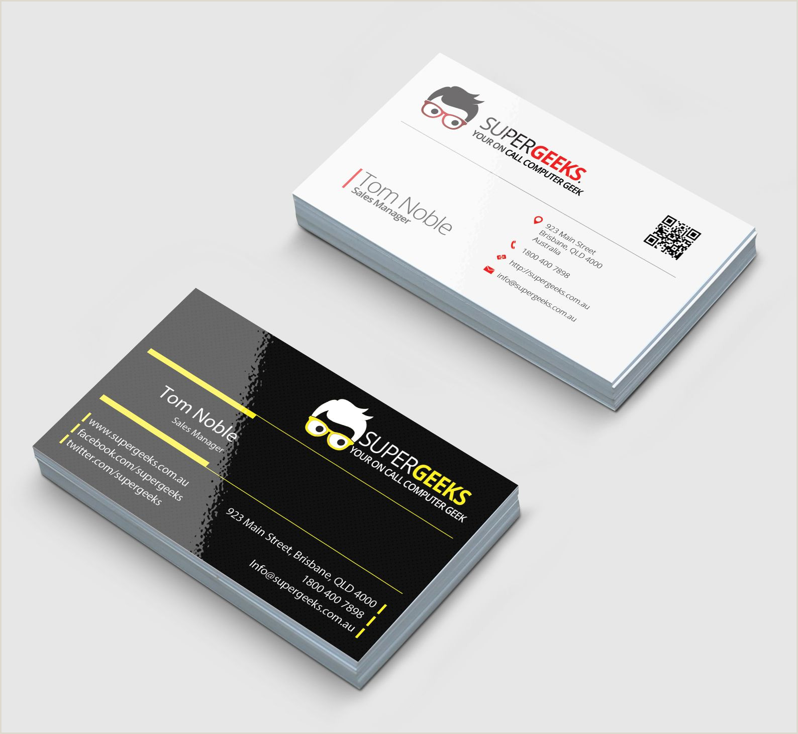 Where To Buy Business Cards Single Sided Business Card Samples For Sale