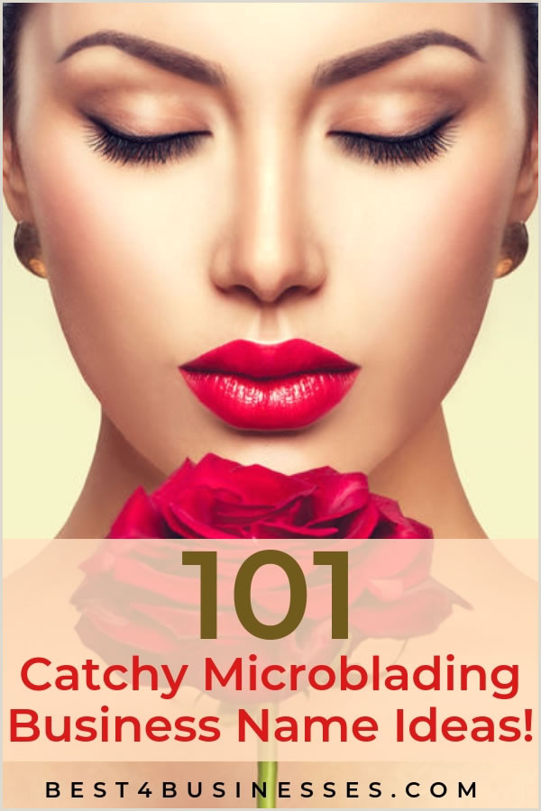 Whimsical Names For A Business 101 Catchy Microblading Business Names For Your New Brow
