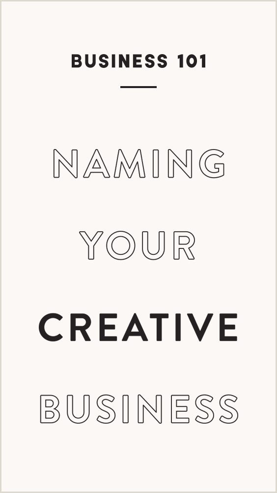 Whimsical Names For A Business Naming Your Creative Business — Flourish Collaborative