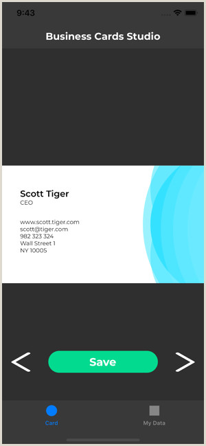 Who Makes Business Cards Business Cards Studio On The App Store