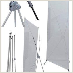 Wholesale Retractable Banner Stand Economy Roll Up Retractable Banner Stand Blank Banners