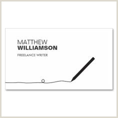 Writing On Business Cards 100 Best Writer Business Cards Images