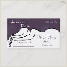 Writing On Business Cards 300 Best Massage Business Cards Images In 2020