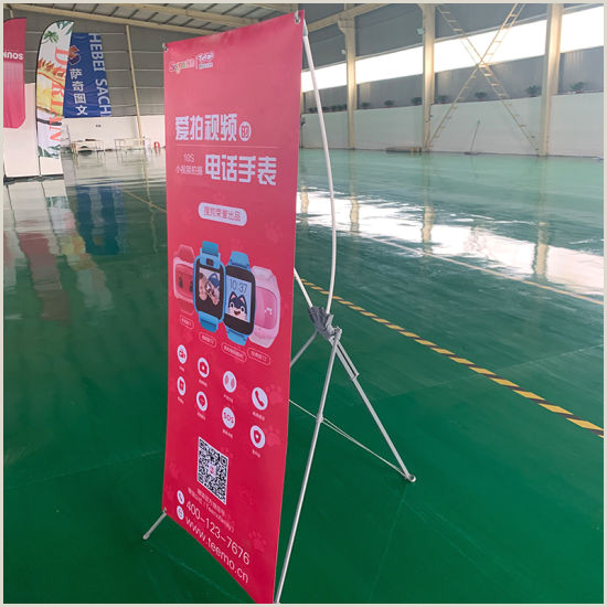 X Style Banner Stand China Hotsell Korean Thicken X Stand Display Banner China