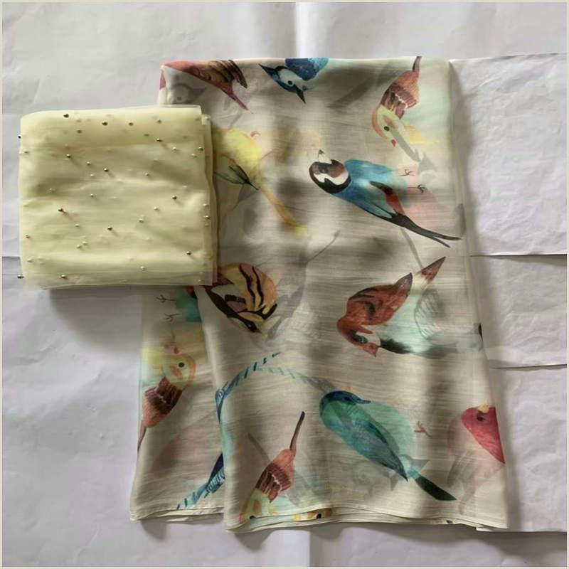 Yakima Best Business Cards Espanol 2020 5 2 Yards High Quality African Silk Chiffon Fabric