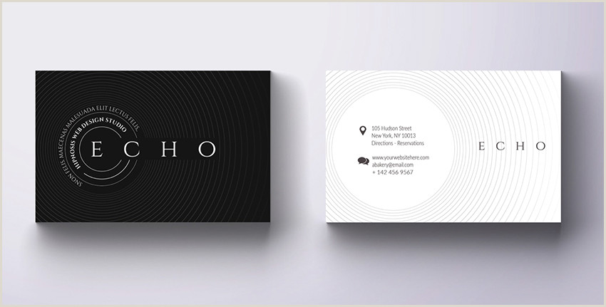 2020 Best Business Cards 2020 Business Card Design Guide To New Trends & Modern Styles