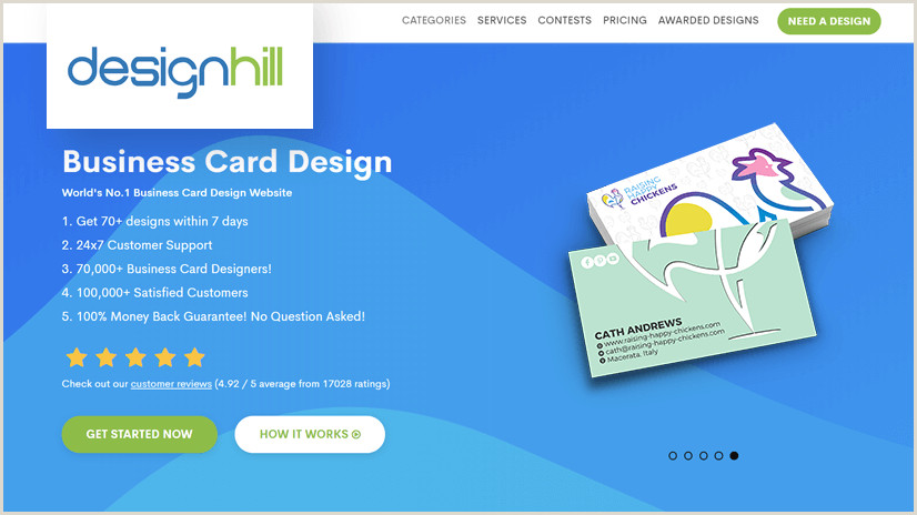 2020 Best Business Cards The Top Line Business Card Makers In 2020 Low Cost & Easy