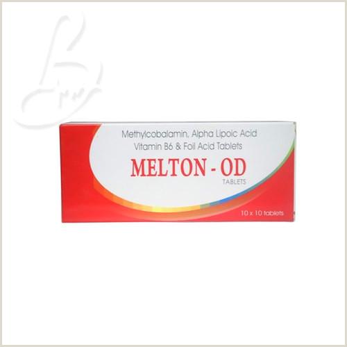 A Buisness Card Melton Od Mecobalamin ठेथिलकोबालाठिन In Gidc