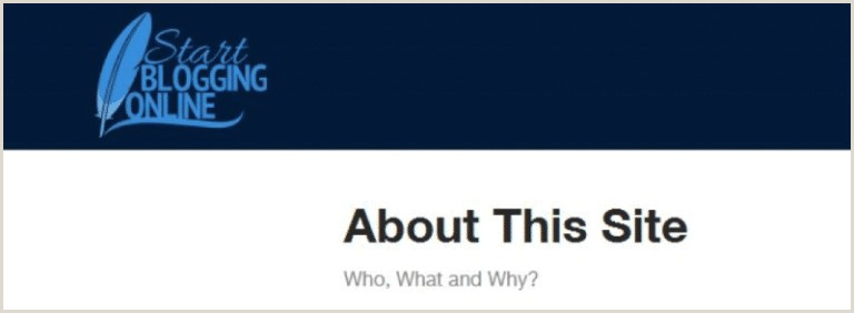 About Me Sample For Blog How To Write About Me Pages Blog Examples & Sample Template