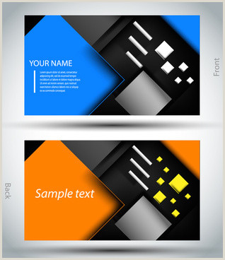 Advertising Agency Business Cards Digital Marketing Business Card Free Vector 27 485