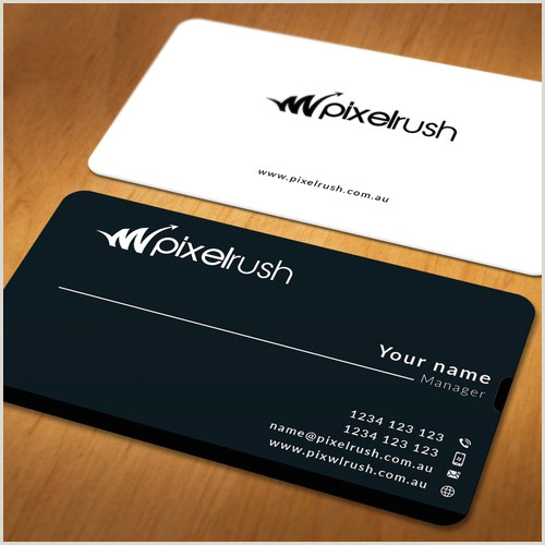Agency Business Cards Business Card For Leading Digital Marketing Agency