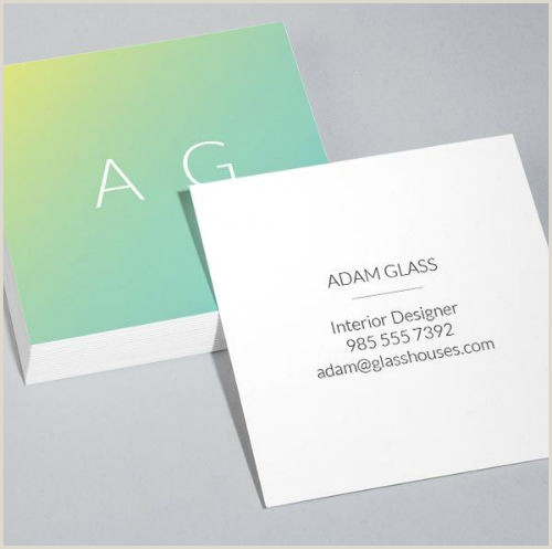 Are Square Business Cards A Good Idea 20 Reasons Why Square Business Cards Are Pretty Slick