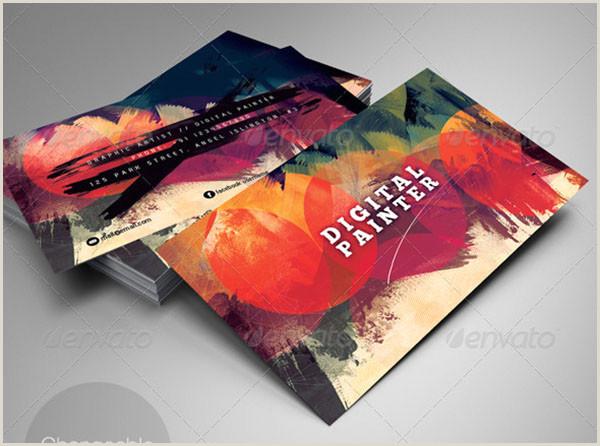 Art Business Card 49 Artist Business Card Templates Free Psd Vector Png Ai