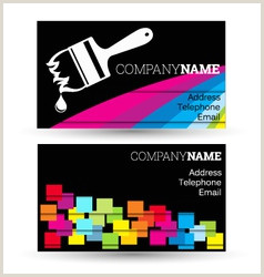 Art Business Card Painting Artist Business Card Vector Over 4 700