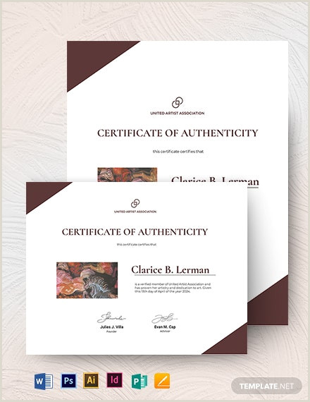Artist Business Card Designs Makeup Artist Certificate Template