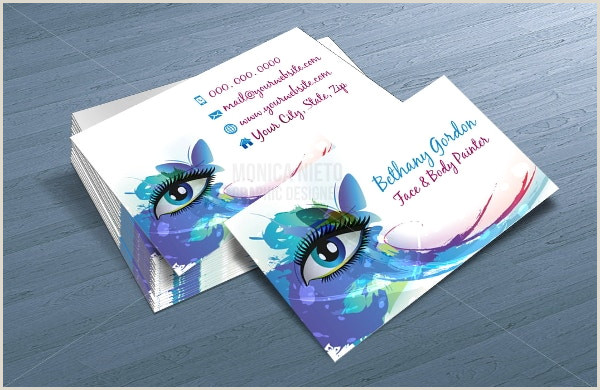 Artist Business Card Examples 21 Artistic Business Card Templates In Word Psd Apple