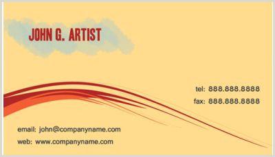 Artistic Business Cards Art & Design Business Cards Print Design Gallery Free Art
