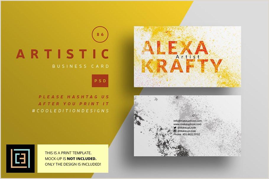 Artistic Business Cards Artistic Business Card 84