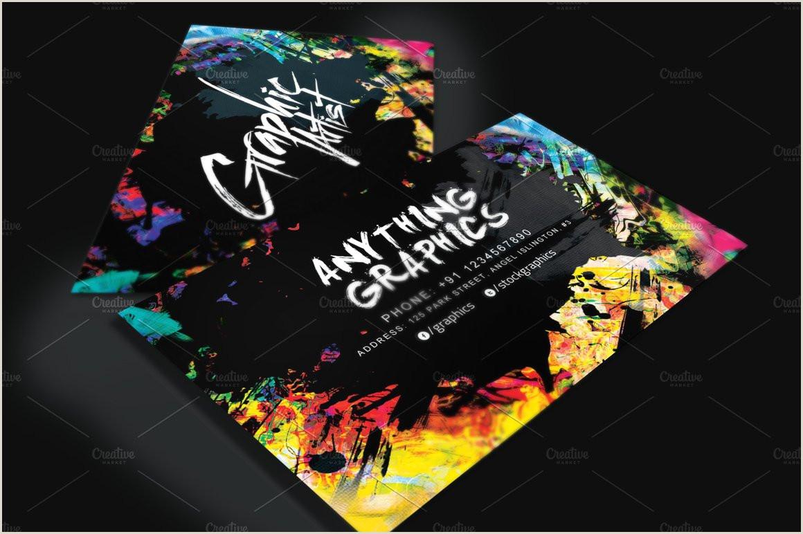 Artistic Business Cards Artistic Business Card For Designers