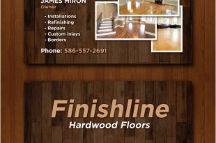 Attractive Business Cards 14 Popular Hardwood Flooring Business Card Template