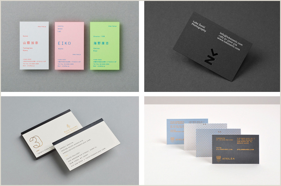 Award Winning Business Cards The Best Business Card Designs No 7 — Bp&o