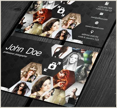 Awesome Photography Business Cards 40 Creative Graphy Business Card Designs For Inspiration