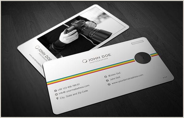 Awesome Photography Business Cards 40 Creative Graphy Business Card Designs For