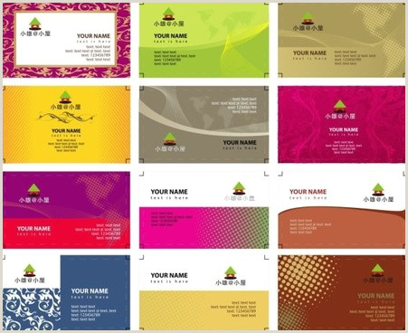 Back Of Business Card Template Business Card Template Free Vector 39 837