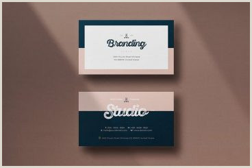 Back Of Business Card Template Business Card Templates